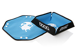 DOOG blue foldable bowl