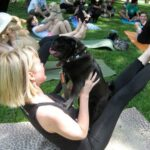 "Get spiritual and do some ""doga"" 